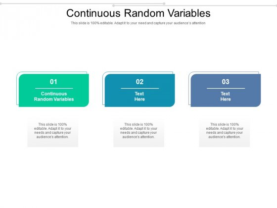 Continuous Random Variables Ppt PowerPoint Presentation Professional Graphics Cpb Pdf