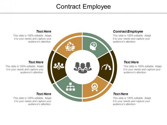 Contract Employee Ppt Powerpoint Presentation Portfolio Graphics Template Cpb