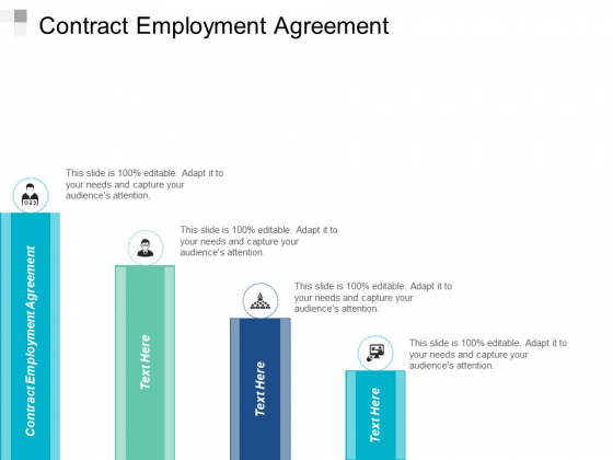 Contract Employment Agreement Ppt PowerPoint Presentation File Objects Cpb
