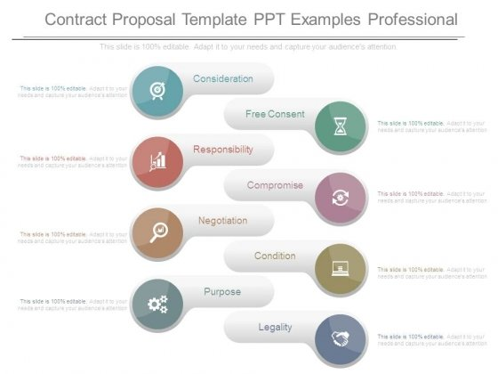 Contract Proposal Template Ppt Examples Professional  Powerpoint