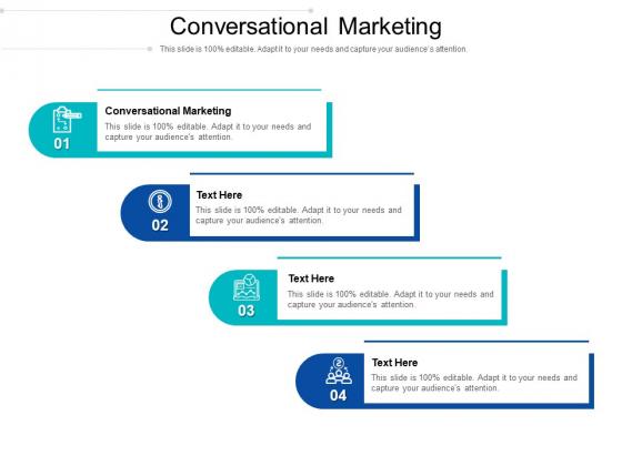 Conversational Marketing Ppt PowerPoint Presentation Model Layout Ideas Cpb Pdf