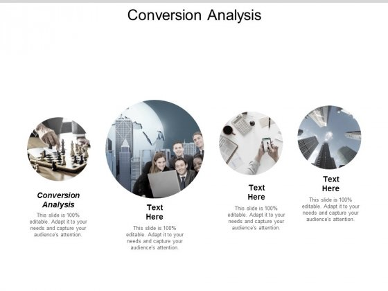 Conversion Analysis Ppt Powerpoint Presentation Model Deck Cpb