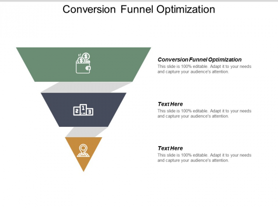Conversion Funnel Optimization Ppt PowerPoint Presentation Icon Graphic Images Cpb
