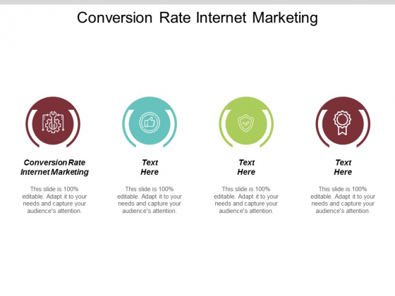 Conversion Rate Internet Marketing Ppt Powerpoint Presentation Styles Infographic Template Cpb