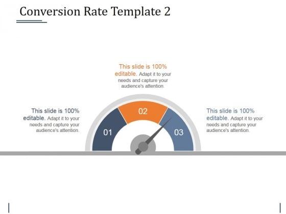 Conversion Rate Template 2 Ppt PowerPoint Presentation Ideas Design Inspiration