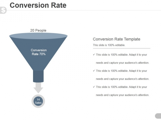 Conversion Rate Template 2 Ppt PowerPoint Presentation Images