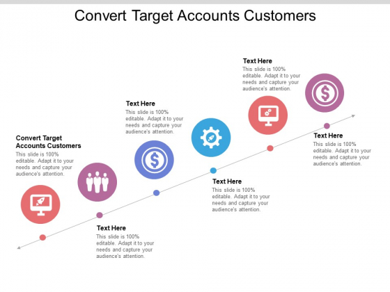 Convert Target Accounts Customers Ppt PowerPoint Presentation Outline Layout Ideas Cpb Pdf