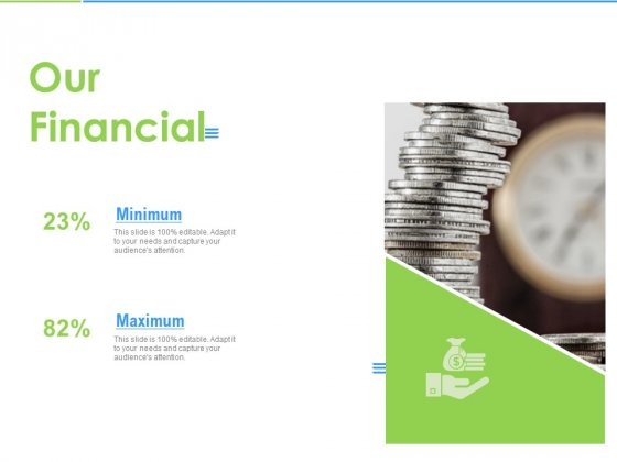 Convertible Bonds Pitch Deck For Increasing Capitals Our Financial Ppt Infographics Portrait PDF