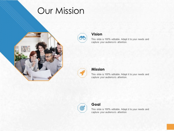 Convertible Debenture Funding Our Mission Ppt PowerPoint Presentation Pictures Graphic Images PDF