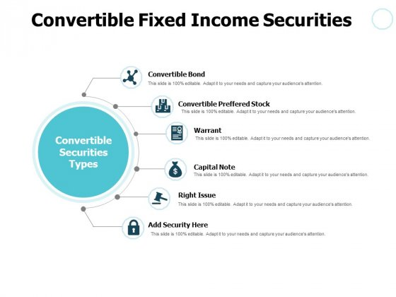 Convertible Fixed Income Securities Ppt PowerPoint Presentation Pictures Inspiration