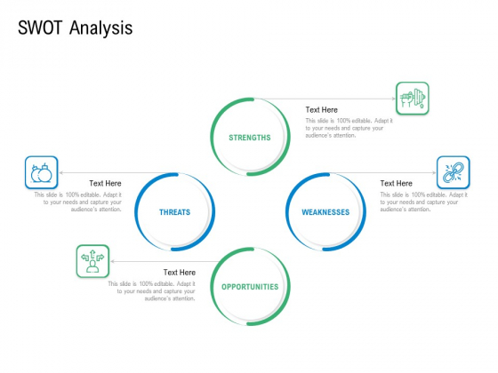 Convertible Preferred Stock Funding Pitch Deck SWOT Analysis Elements PDF