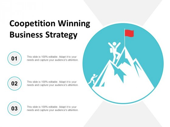 Coopetition Winning Business Strategy Ppt Powerpoint Presentation Layouts Templates