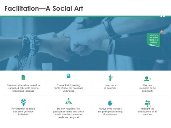 Cops Facilitation A Social Art Ppt Information PDF