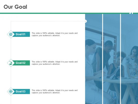 Cops Our Goal Ppt Icon File Formats PDF