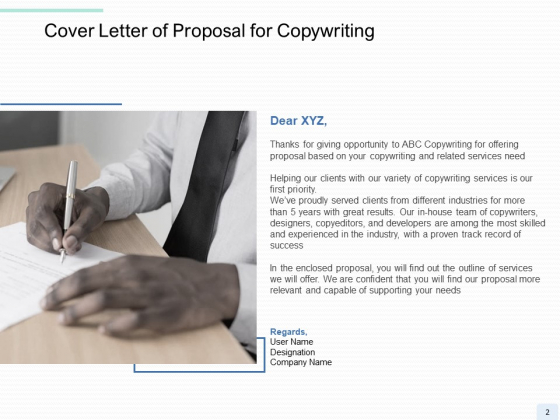 Copywriting_Service_Proposal_Ppt_PowerPoint_Presentation_Complete_Deck_With_Slides_Slide_2