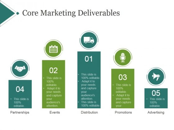Core marketing deliverables template 1 ppt powerpoint presentation core marketing deliverables template 1 ppt powerpoint presentation icon powerpoint templates maxwellsz