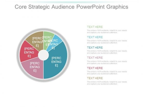 Core Strategic Audience Powerpoint Graphics