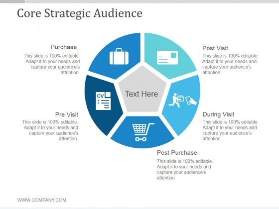 Core Strategic Audience Ppt PowerPoint Presentation Inspiration