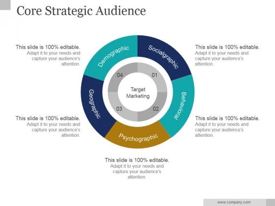 Core Strategic Audience Slide2 Ppt PowerPoint Presentation Design Templates