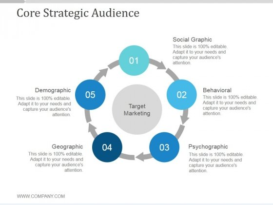 Core Strategic Audience Slide2 Ppt PowerPoint Presentation Inspiration