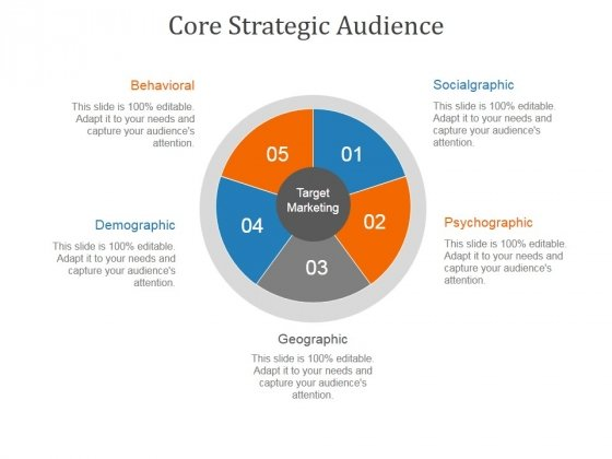 Core Strategic Audience Template 1 Ppt PowerPoint Presentation Good