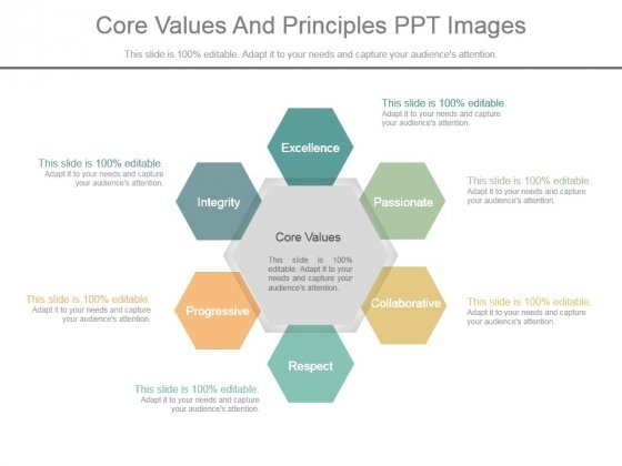 Core Values And Principles Ppt Images