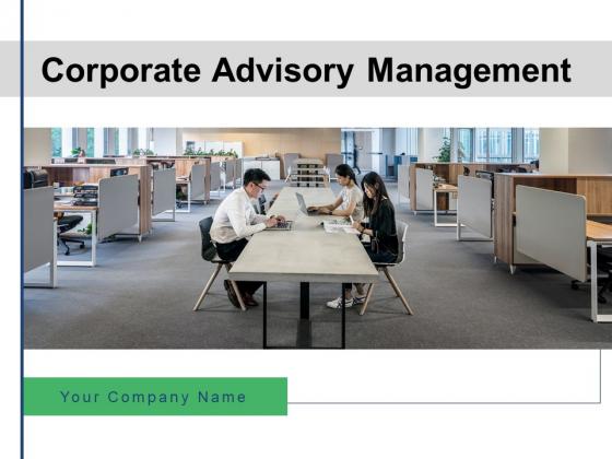 Corporate Advirsoy Management Gear Plan Ppt PowerPoint Presentation Complete Deck