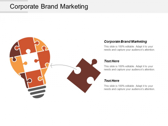 Corporate Brand Marketing Ppt PowerPoint Presentation Gallery Graphics Design Cpb