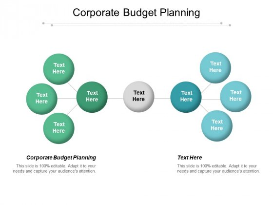 Corporate Budget Planning Ppt PowerPoint Presentation Layouts Visuals Cpb