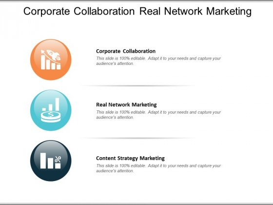 Corporate Collaboration Real Network Marketing Content Strategy Marketing Ppt PowerPoint Presentation Ideas Good