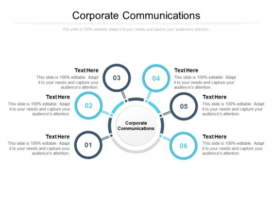 Corporate Communications Ppt PowerPoint Presentation File Brochure Cpb