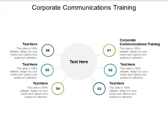 Corporate Communications Training Ppt PowerPoint Presentation Outline Structure Cpb