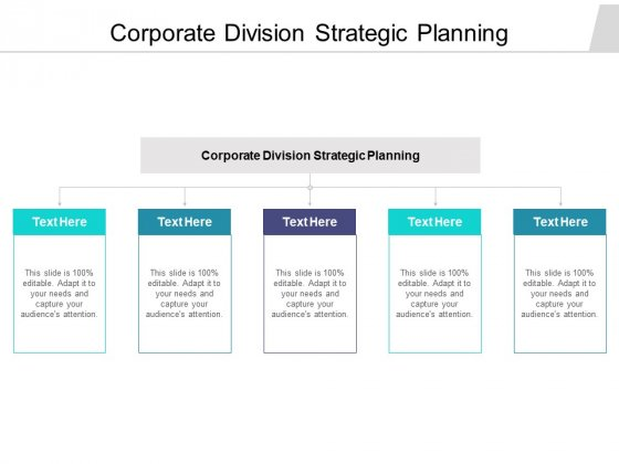 Corporate Division Strategic Planning Ppt PowerPoint Presentation Icon Guide Cpb Pdf