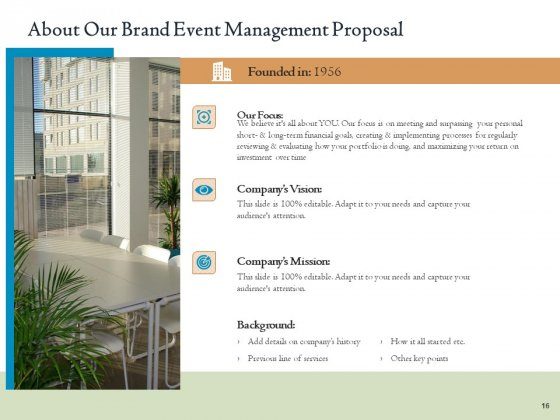 Corporate_Event_Planning_And_Management_Proposal_Ppt_PowerPoint_Presentation_Complete_Deck_With_Slides_Slide_16