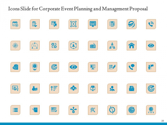 Corporate_Event_Planning_And_Management_Proposal_Ppt_PowerPoint_Presentation_Complete_Deck_With_Slides_Slide_22
