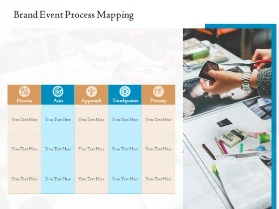 Corporate Event Planning Management Brand Event Process Mapping Ppt Professional Master Slide