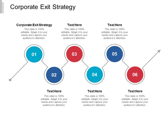 Corporate Exit Strategy Ppt PowerPoint Presentation Ideas Information Cpb