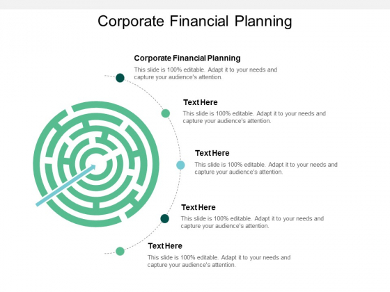 Corporate Financial Planning Ppt PowerPoint Presentation File Graphics Tutorials Cpb