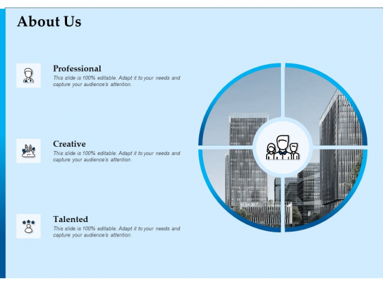 Corporate Fundraising Ideas And Strategies About Us Ppt Slides Diagrams PDF