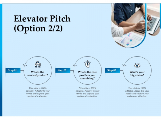 Corporate Fundraising Ideas And Strategies Elevator Pitch Ppt Summary Icons PDF