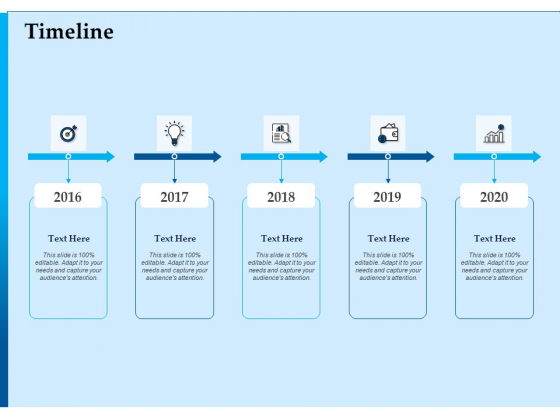 Corporate Fundraising Ideas And Strategies Timeline Ppt File Samples PDF