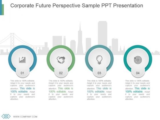 Corporate Future Perspective Sample Ppt Presentation
