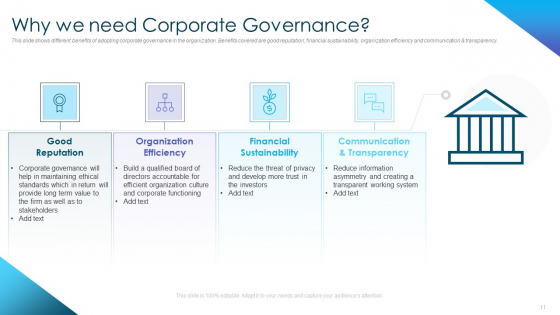 Corporate_Governance_Best_Practices_Ppt_PowerPoint_Presentation_Complete_Deck_With_Slides_Slide_11