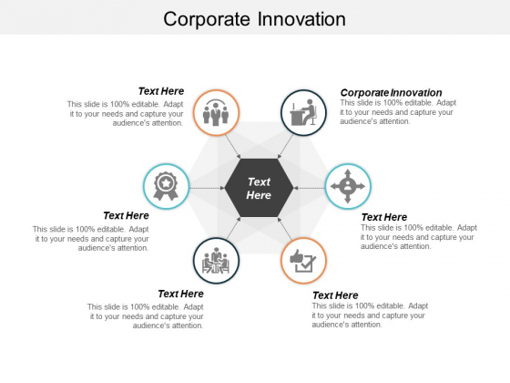 Corporate Innovation Ppt PowerPoint Presentation Gallery Deck Cpb