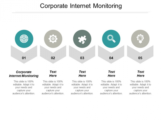 Corporate Internet Monitoring Ppt PowerPoint Presentation Show Infographic Template Cpb