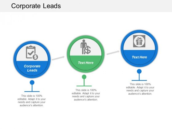 Corporate Leads Ppt PowerPoint Presentation Outline Professional Cpb