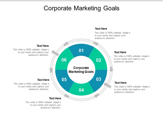 Corporate Marketing Goals Ppt PowerPoint Presentation Icon Clipart Cpb