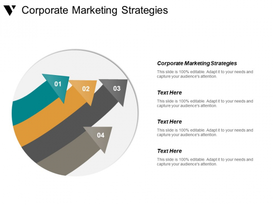 Corporate Marketing Strategies Ppt PowerPoint Presentation Ideas Maker