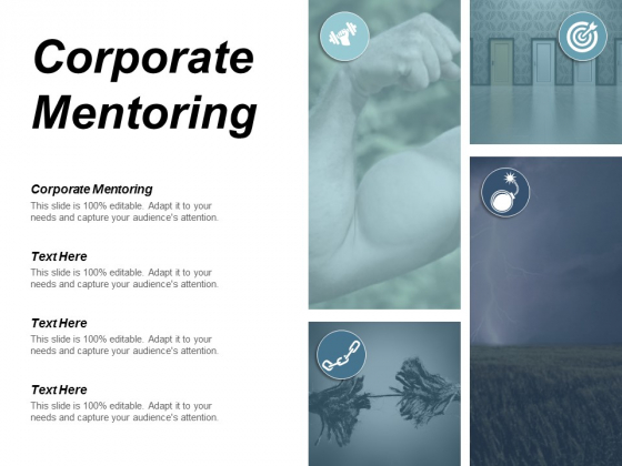 Corporate Mentoring Ppt Powerpoint Presentation Slides Icons Cpb