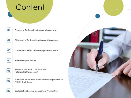 Corporate Networking Relationship Management Content Ppt Layouts Graphics Pictures PDF